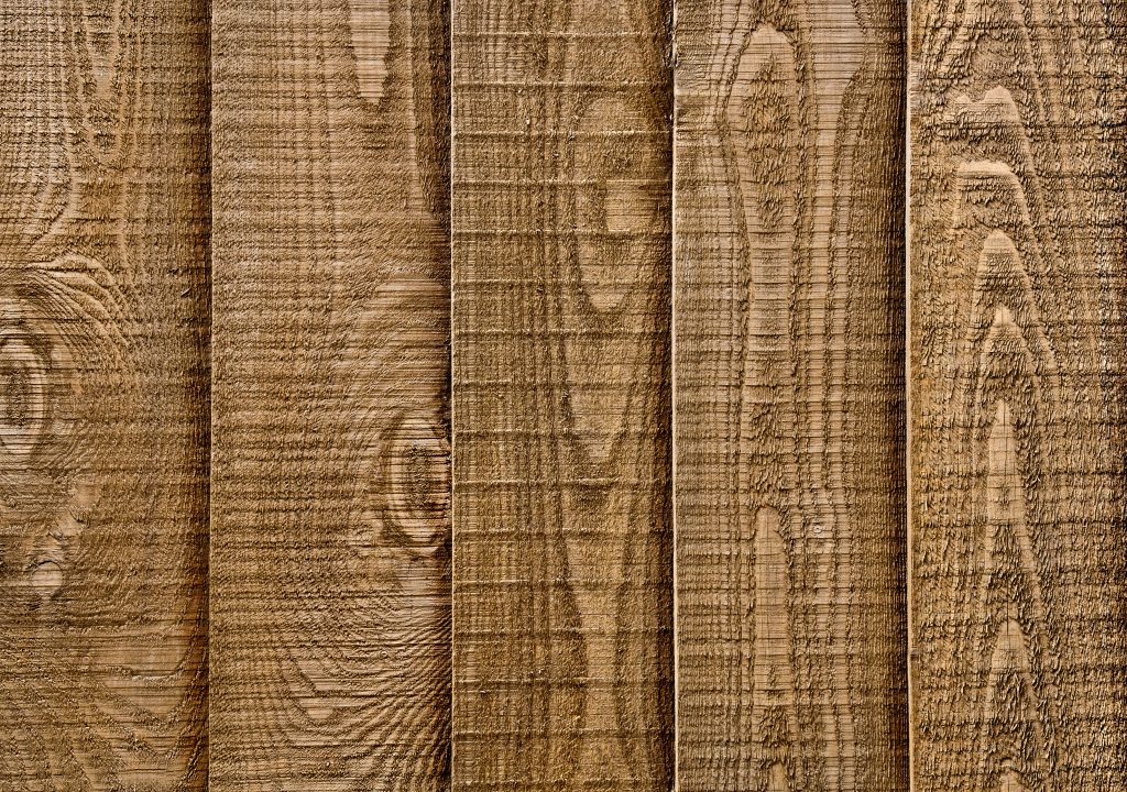 Close up section of a piece of wood